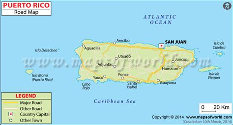printable puerto rico road map puerto rico road map detailed road map of puerto rico