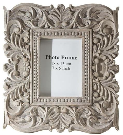 Brass Kitchen F sachi carved wood photo frame traditional picture frames