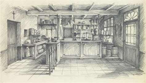 Home Decor Stores In Maryland pencil drawing country store circa 1950
