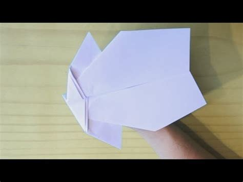 How To Make Paper Stunt Planes - how to make a stunt plane paper airplane my crafts