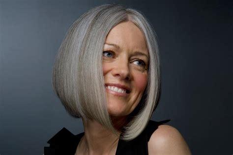 cute easy  fashionable hairstyles  grey hair
