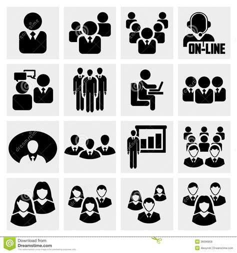 office and business vector icons set on gray royalty free stock images image 33973149 office icons set stock vector illustration of computer 36696858