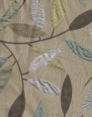 leaf pattern material branching out breeze leaf pattern upholstery fabric