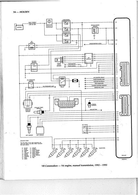 Vt Commodore Engine Diagram | My Wiring DIagram