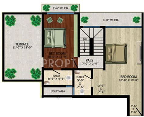 1185 Sq Ft 2 Bhk 2t Apartment For Sale In Vision 865 Sq Ft 2 Bhk