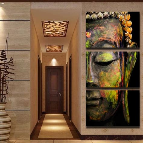 home artwork decor buddha oil painting wall art paintings picture paiting