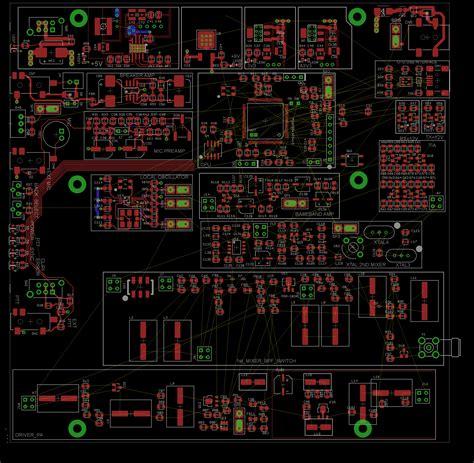 Pcb Design Jobs Manchester | sm2000 part 6 pcb layout rowetel