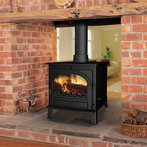 Two Sided Wood Burning Fireplace Insert by Stoves Sided Stoves