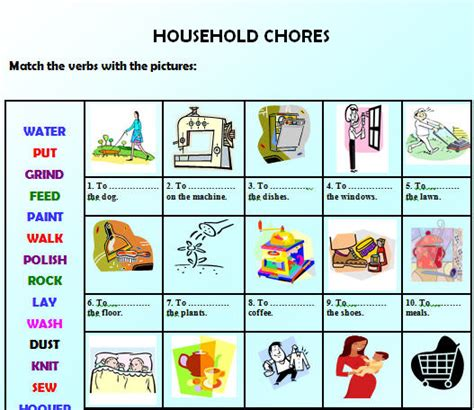 home chores opinion essay help with household chores