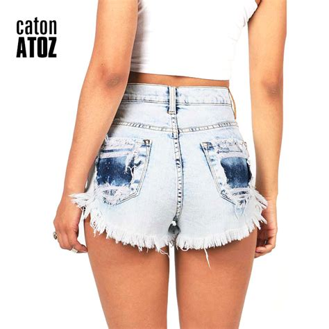 10 Brands To Buy High Waist From by Aliexpress Buy Catonatoz 2063 S Distressed
