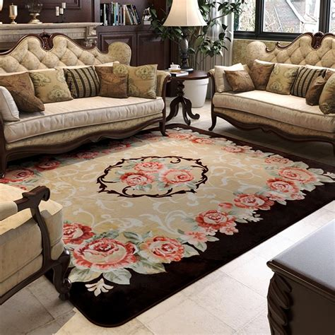 how big should a bedroom rug be 150x200cm pastoral big carpets for living room carved