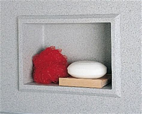 Recessed Shelf Kit by Swanstone As 1075 Wall Panel Recessed Accessory Shelf