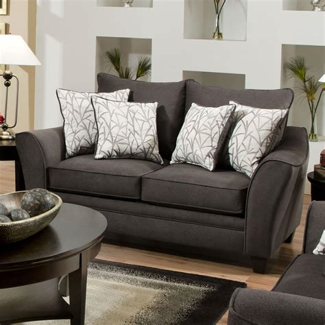 american furniture 3850 loveseat with contemporary