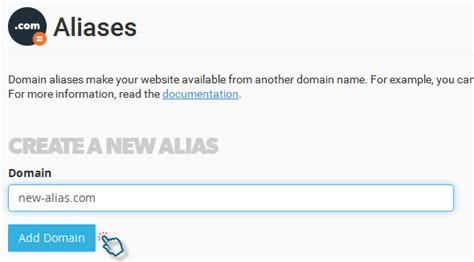 create   alias park  domain  cpanel