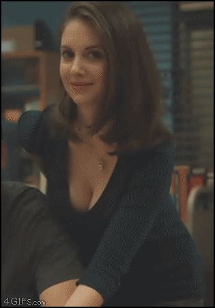 Lidiya Blouse the 20 ridiculously gifs of alison brie