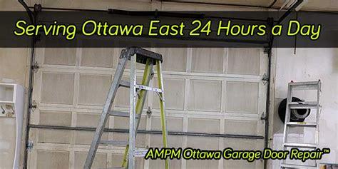 Garage Door Service Ottawa by East Ottawa Garage Door Repair 24hr Opener Repairs