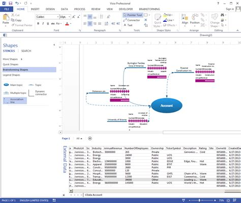 visio link link visio shapes to dynamics crm data