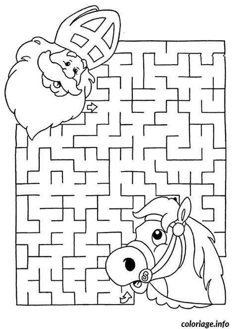 jeux de cuisine de de noel coloriage labyrinthe jeux noel jecolorie com