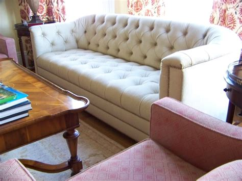 Made Sofas by Made Catherine Curved Back Tufted Sofa By
