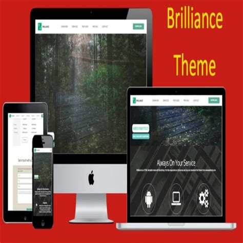 bootstrap themes hack brilliance bootstrap theme 187 webnots