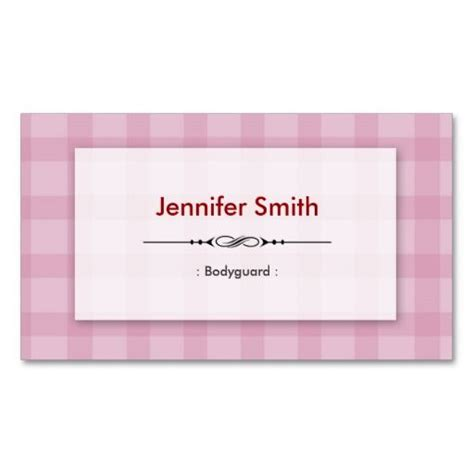 template for square business cards bodyguard pretty pink squares double sided standard