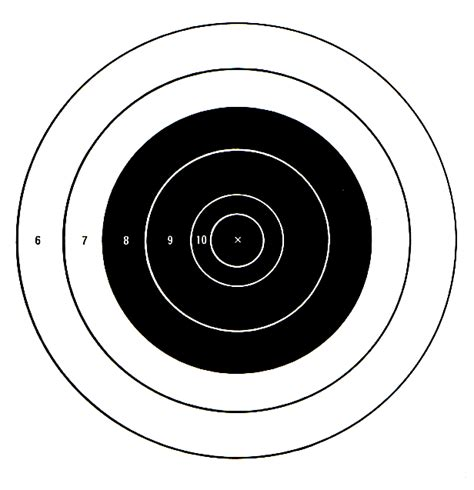 printable large rifle targets free downloadable targets for 6mm br norma and 6br
