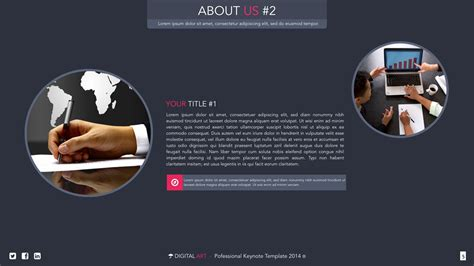 artistic powerpoint templates digital creative powerpoint template by vigitalart