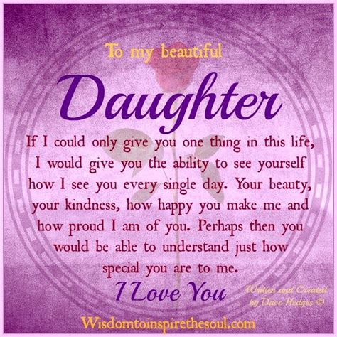 Beautiful Quotes For Daughters Birthday My Beautiful Daughter Quotes Quotesgram