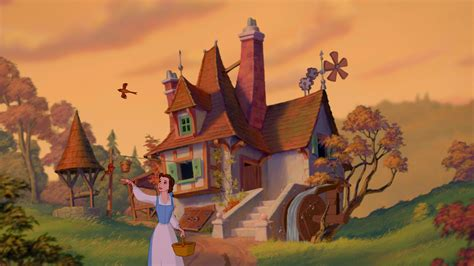 beauty and the beast village belle little town belle photo 35095914 fanpop