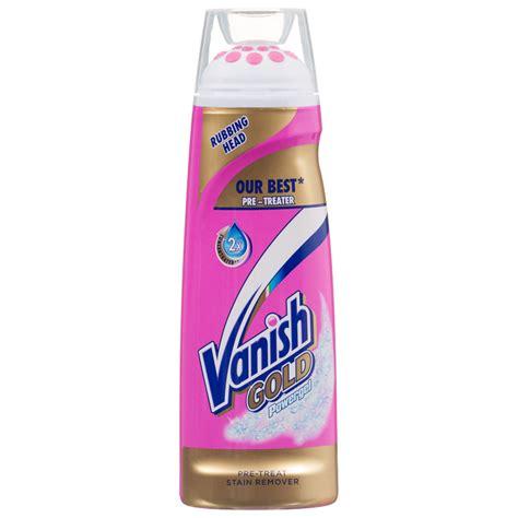 Bath Shower Gel vanish gold powergel 200ml stain remover laundry