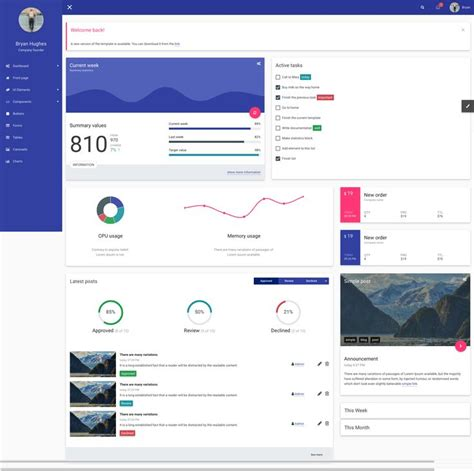 simple admin html template simple admin html template new 28 best admin templates