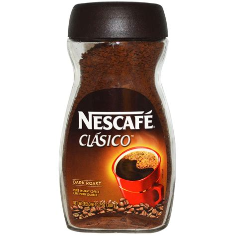 Nescafe Coffee nescaf 233 clasico instant coffee roast 7 oz