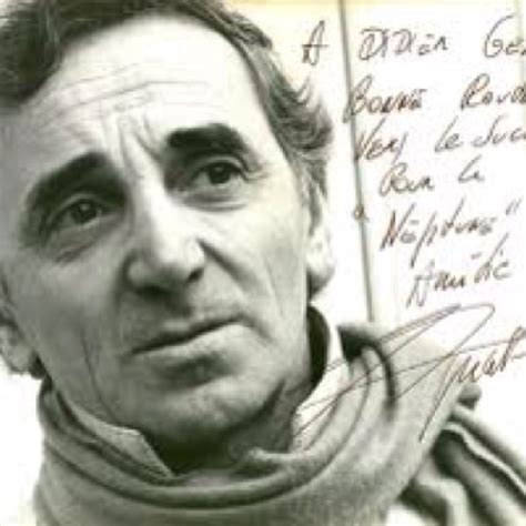 charles aznavour testo 17 best images about aznavour on stage name