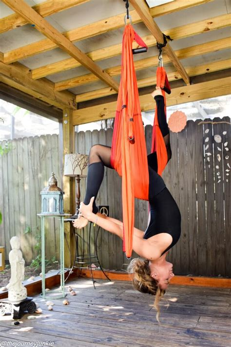 how to hang a yoga swing the yoga trapeze how why to use it insider yoga website