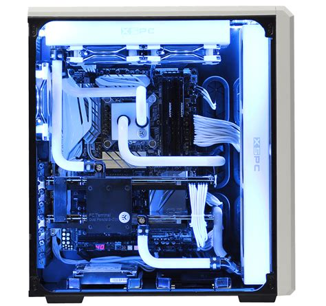 customize a pc avalanche ii hardline liquid cooled gaming computer