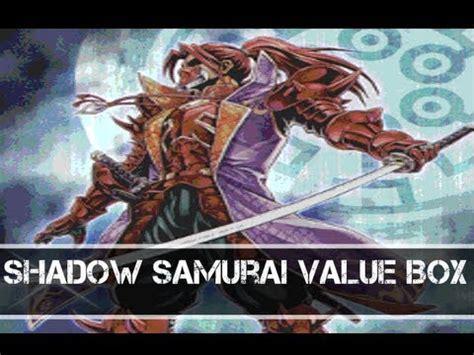 Shadow Of The Six Samurai Shien Spwa En012 1st Edition yugioh shadow samurai value box shadow of the six