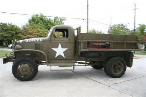 chevrolet army truck 1941 chevrolet army 1 1 2 ton dump truck fully restored