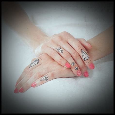 finger tattoo and meanings 9 best diamond tattoo designs with meanings styles at life