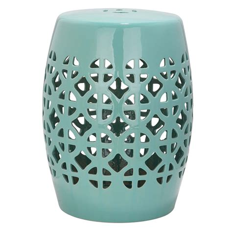Ceramic Drum Stool by Hollow New Design Ceramic Stool Home Decoration