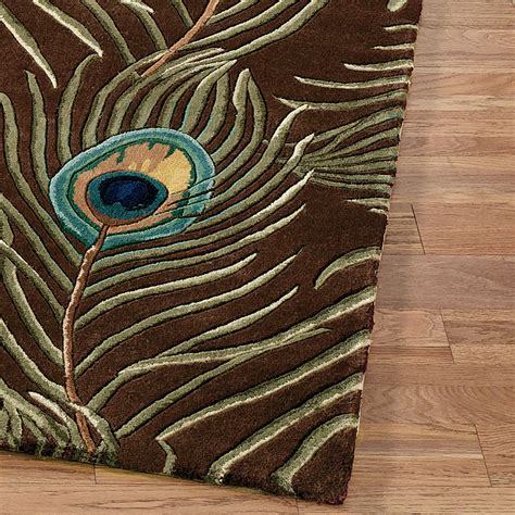 peacock rugs peacock feathers rug runner