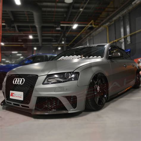 Audi S4 Front Bumper by Rs4 Style Front Bumper Conversion For Audi A4 S4 Quot B8
