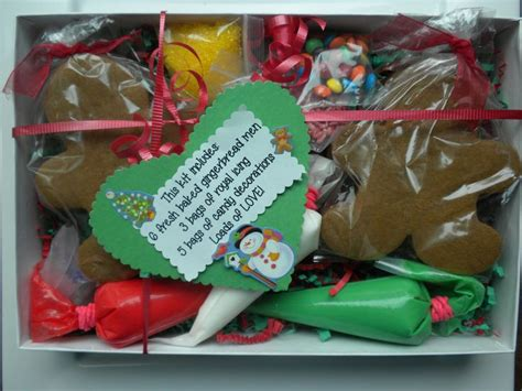 christmas cookie decorating kit craft gift ideas