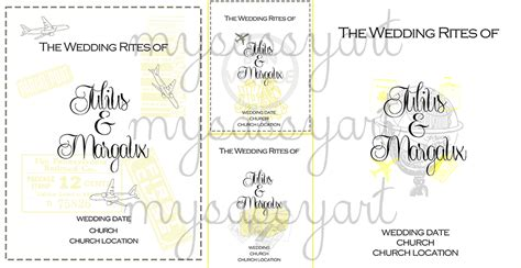wedding missalette layout missalette cover for sis margaux my sassy art
