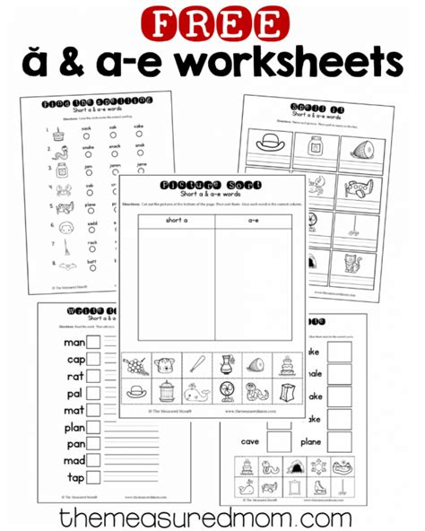 I E Worksheets by 10 Free A A E Worksheets The Measured