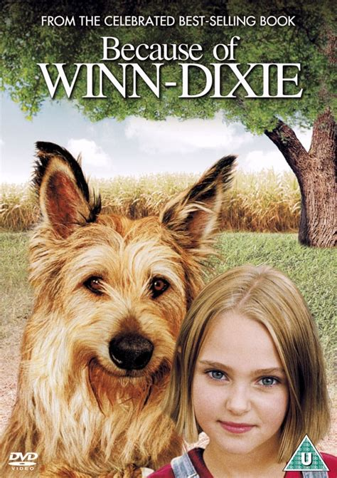 pictures of the book because of winn dixie news because of winn dixie uk dvd r2 dvdactive