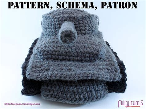knitted tank slippers pattern for tiger 1 tank panzer crocheted slippers