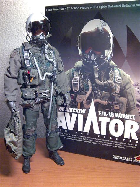 Figure Pilot toys aviator f a 18 hornet pilot al stoys
