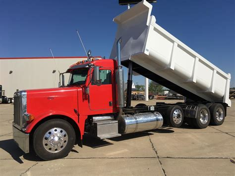 used peterbilt trucks peterbilt dump trucks for sale