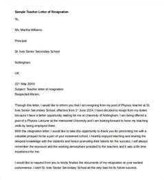 Model Of Resign Letter by Resignation Letter Template 17 Free Sle Exle Format Free Premium Templates