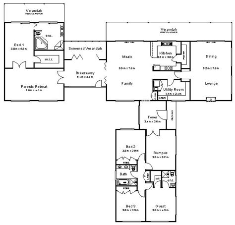 Australian House Plans Home Christmas Decoration Australian House Blueprints